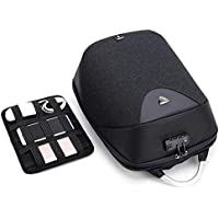 Anti-Theft Backpack, Three-Dimensional Computer Backpack, Outdoor Korean Backpack, Male Middle School Student Schoolbag, USB Charging