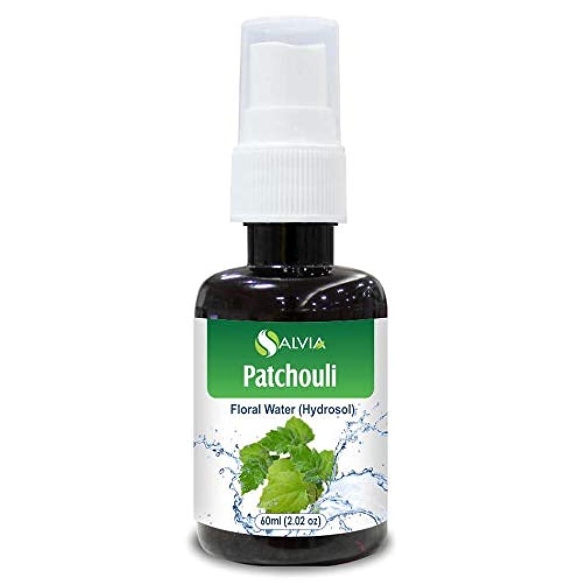 賢明な衣類エチケットPatchouli Floral Water 60ml (Hydrosol) 100% Pure And Natural