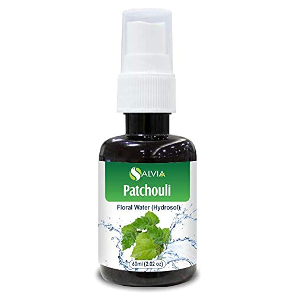 ハイキングに行く不適当狂うPatchouli Floral Water 60ml (Hydrosol) 100% Pure And Natural