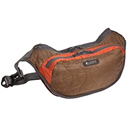 Calm Body Bag: Light Brown / Orange