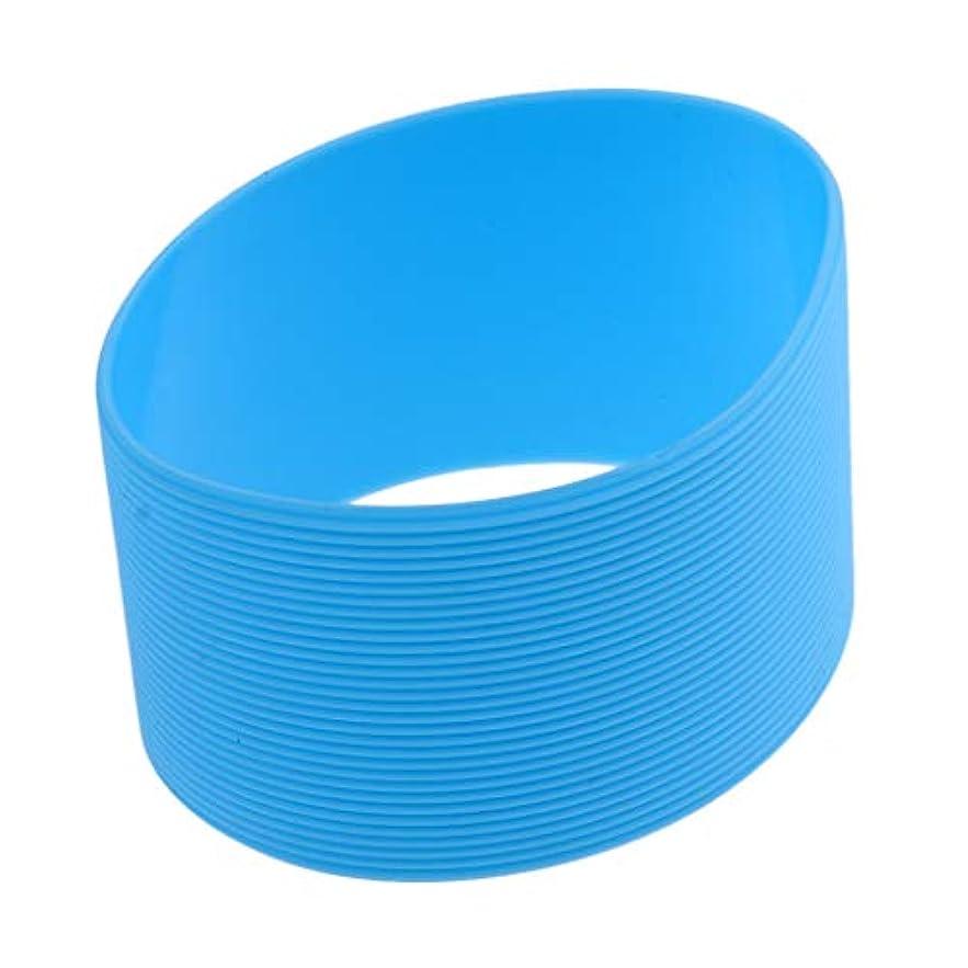 競う想起ウガンダBaoblaze アウトドア シリコン ラウンド ノンスリップ ウォーターボトル マグカップスリーブ カバー 全9色