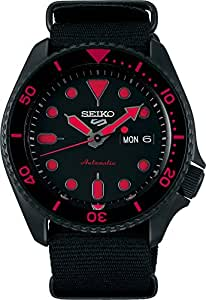 [セイコー] SEIKO 5 腕時計 スポーツ 自動巻き(手巻付き) 海外モデル レッド/ブラック SRPD83K1 メンズ [逆輸入品]