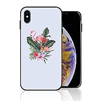 iPhone XS Max 携帯カバー 熱帯植物 フラミンゴ カバー TPU 薄型ケース 防塵 保護カバー 携帯ケース アイフォンケース 対応 ソフト 衝撃吸収 アイフォン スマートフォンケース 耐久