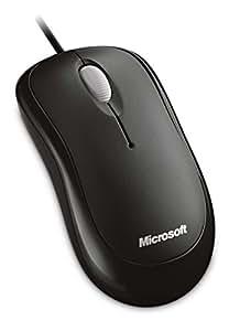 マイクロソフト マウス 有線/USB接続 L2 Basic Optical Mouse Mac/Win セサミブラック P58-00069