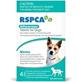 RSPCA Allwormer Small Dog Tablets, 4 Count