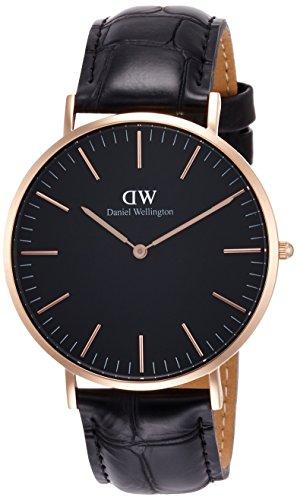 [ダニエル・ウェリントン]DanielWellington 腕時計 Classic Black Reading ブラック文字盤 DW00100129 メンズ 【並行輸入品】