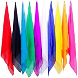手品道具 超薄魔术スカーフ 手品師 多様な色 (60cm)