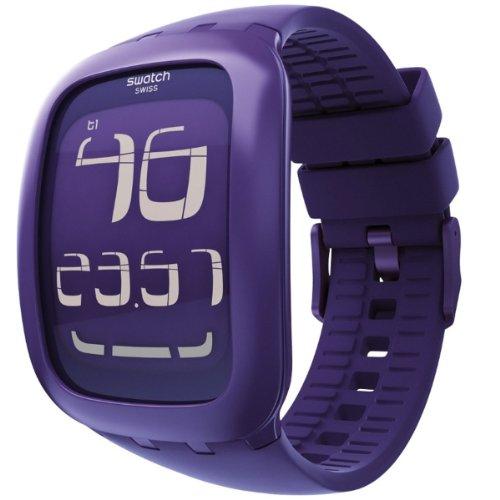 [スウォッチ]SWATCH 腕時計 SWATCH TOUCH PURPLE(スウォッチ・タッチ・パープル) タッチパネル搭載デジタル SURV100 【正規輸入品】