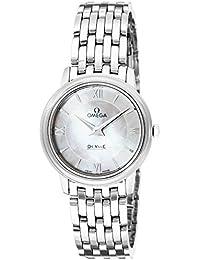 [オメガ]OMEGA 腕時計 デ・ビル ホワイトパール文字盤 424.10.27.60.05.001 レディース 【並行輸入品】