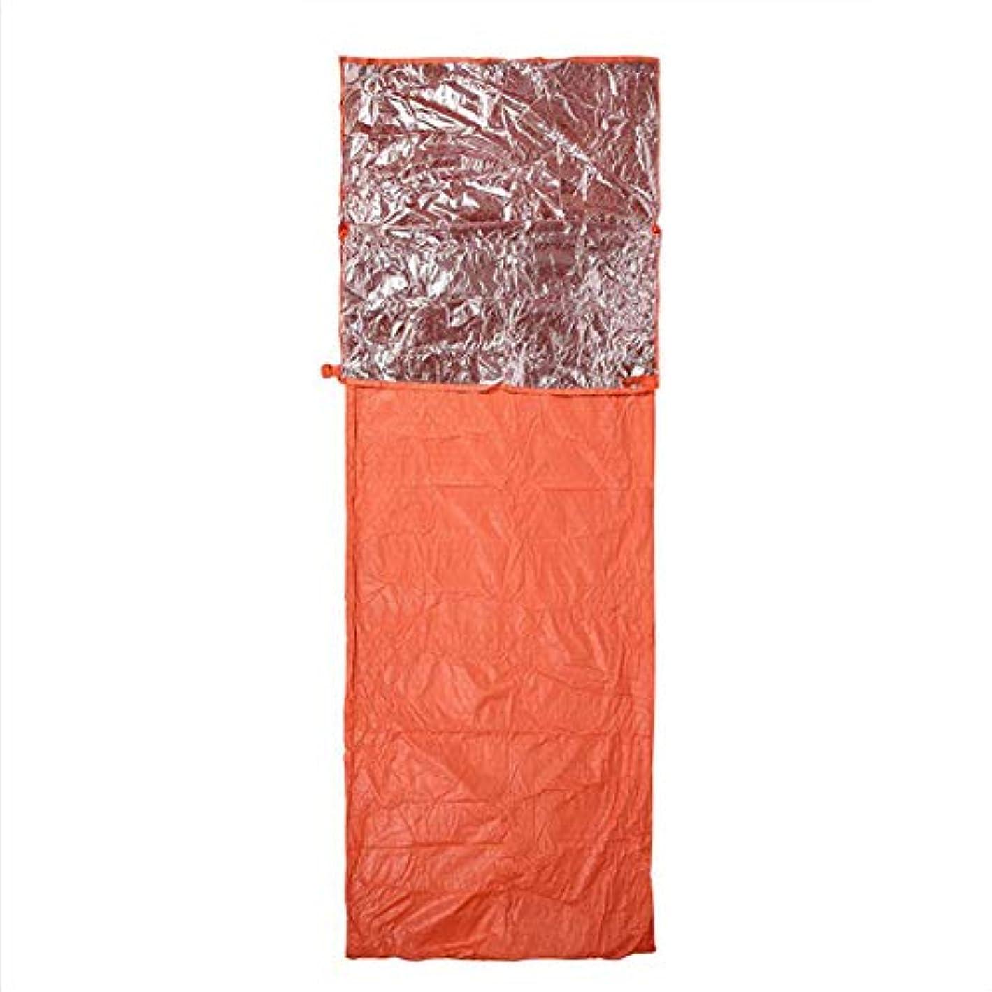 十二聴覚連続的LGFV-屋外熱寝袋シングル封筒寝袋断熱ブランケット断熱寝袋バックパッキングとハイキング