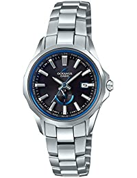 [カシオ]CASIO 腕時計 オシアナス 電波ソーラーManta OCW-S350-1AJF レディース