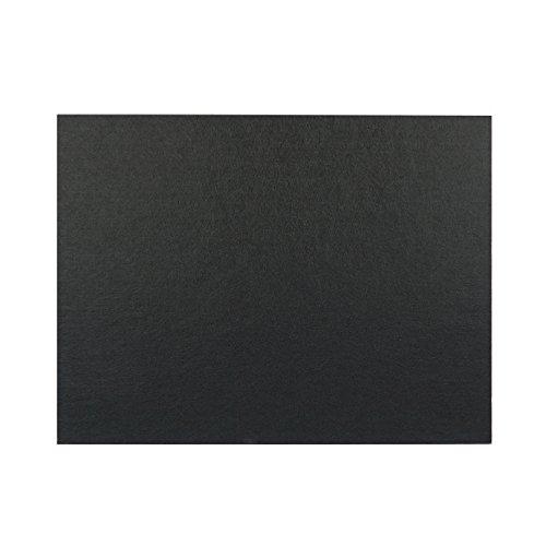 4枚入り 吸音材 斷熱用 吸音ボード 硬質吸音 フェルトボード 吸音パネル 吸音カラー 800×600mm×厚さ9 mm 45度カットタイプ (ブラック)