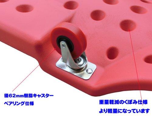 人間工学◆自動車メンテ作業用6輪寝板(低床サービスクリーパー)