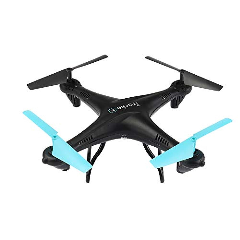 Springdoit 3Dフリップ4軸航空機ヘリコプター美しいクワッドコプターHDカメラおもちゃギフト - 黒