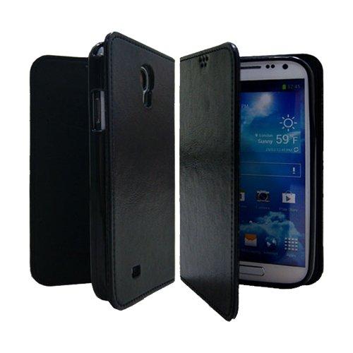 Galaxy S4 / ギャラクシー S4 (SC-04E) 対応 ケース P2J Antique Leather Flip Wallet / フォントゥージョイ アンティーク レザー フリップ ウォレット 手帳型 ケース Black / ブラック