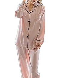 ルームウェアセット ルームウェア シルク パジャマ レディース 可愛い 長袖 上下 ギフト セット