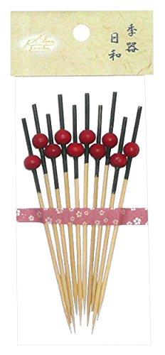 Bamboo クリーンバンブー Clean Bamboo クリーンバンブー 新珠かんざし串 9cm 10本入 69-911-2