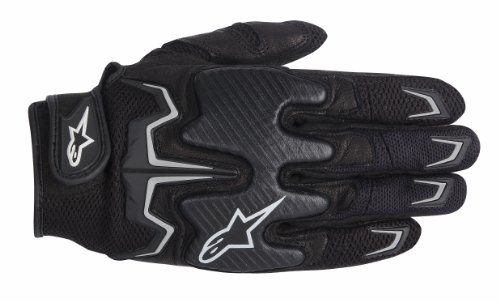 alpinestars(アルパインスターズ)バイクグローブ ブラック (サイズ:M) ファイターAIRグローブ 1694210102