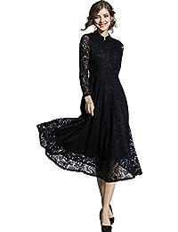 1a975092ceb75 Amazon.co.jp  ブラック - パーティードレス   ワンピース・ドレス  服 ...