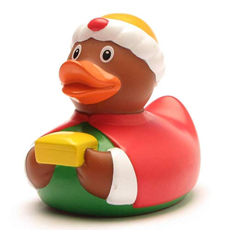 DUCKSHOP   Rubber Duck King Caspar   Bathduck ゴム製のアヒル  L: 8,5 cm