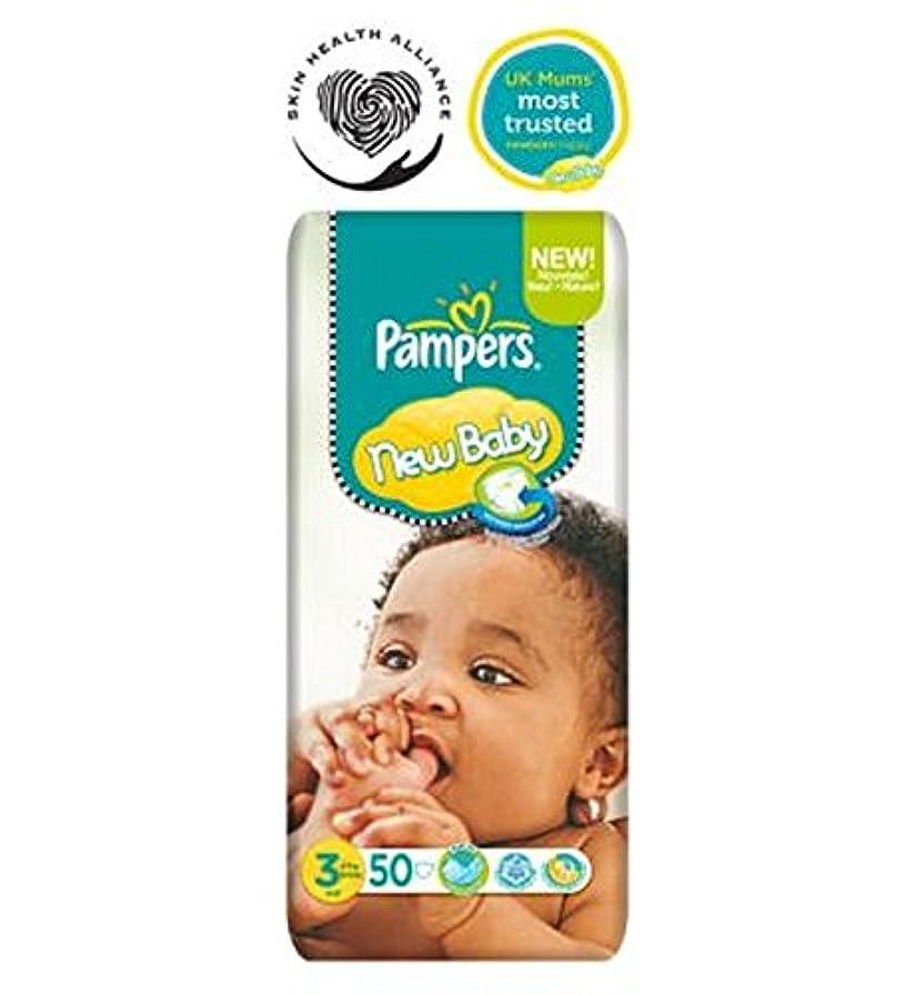 対角線体系的に酔ったPampers New Baby Nappies Size 3 Essential Pack - 50 Nappies - パンパース新しい赤ちゃんのおむつサイズ3不可欠パック - 50おむつ (Pampers) [並行輸入品]