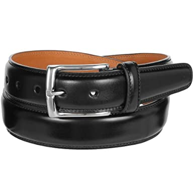 Layered Cordovan Belt KTB-039: Black