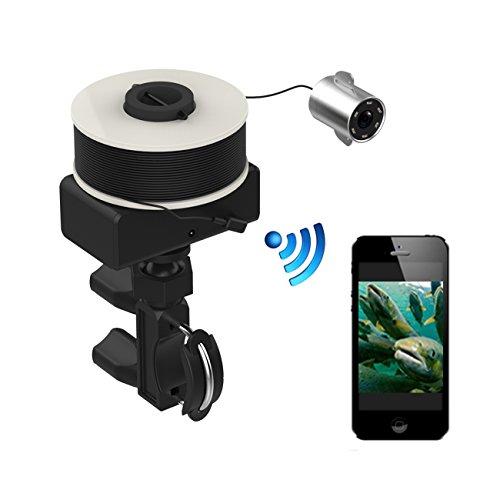 BLUEPUPILE 魚群探知機 フィッシュファインダー 釣り スマホ用アプリと連携 パソコンで画像読み モニター 監視 暗視可能 DVR機能 録画 固定可能 耐久性 防水 iphone,andriod,対応