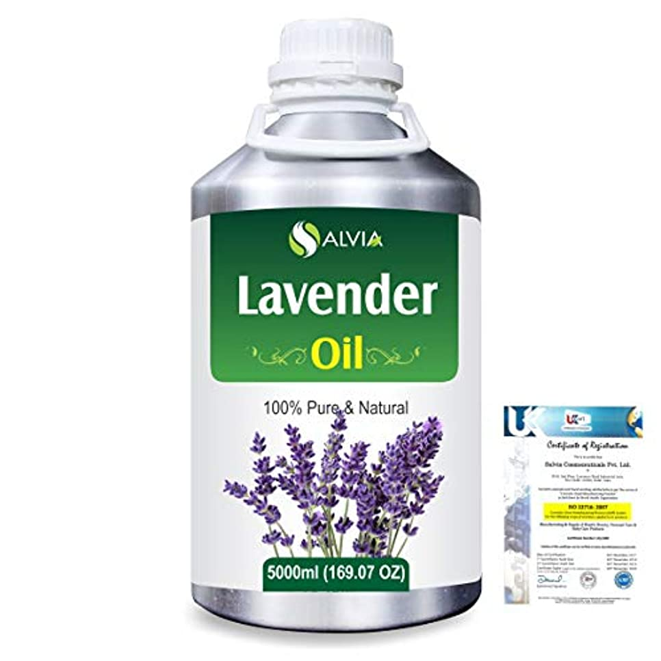 差し控える幻滅衝撃Lavender (Lavandula officinalis) 100% Natural Pure Essential Oil 5000ml/169fl.oz.