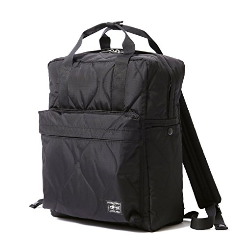 (ヘッド・ポーター) HEAD PORTER | CLAYTON | 2WAY BAG (BLACK)