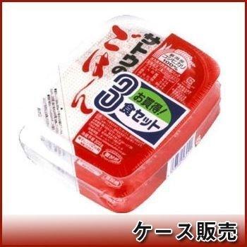 サトウのごはん 新潟県産コシヒカリ 200g 3食セット×12個入