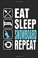 Snowboard: Notebook/Diary/Organizer/120 checked pages/ 6x9 inch