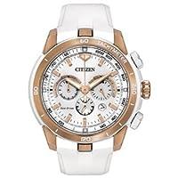 シチズン Citizen Women's CA4153-00A Victoria Azarenka Ecosphere Limited Edition Analog Display Japanese Quartz White Watch [並行輸入品]