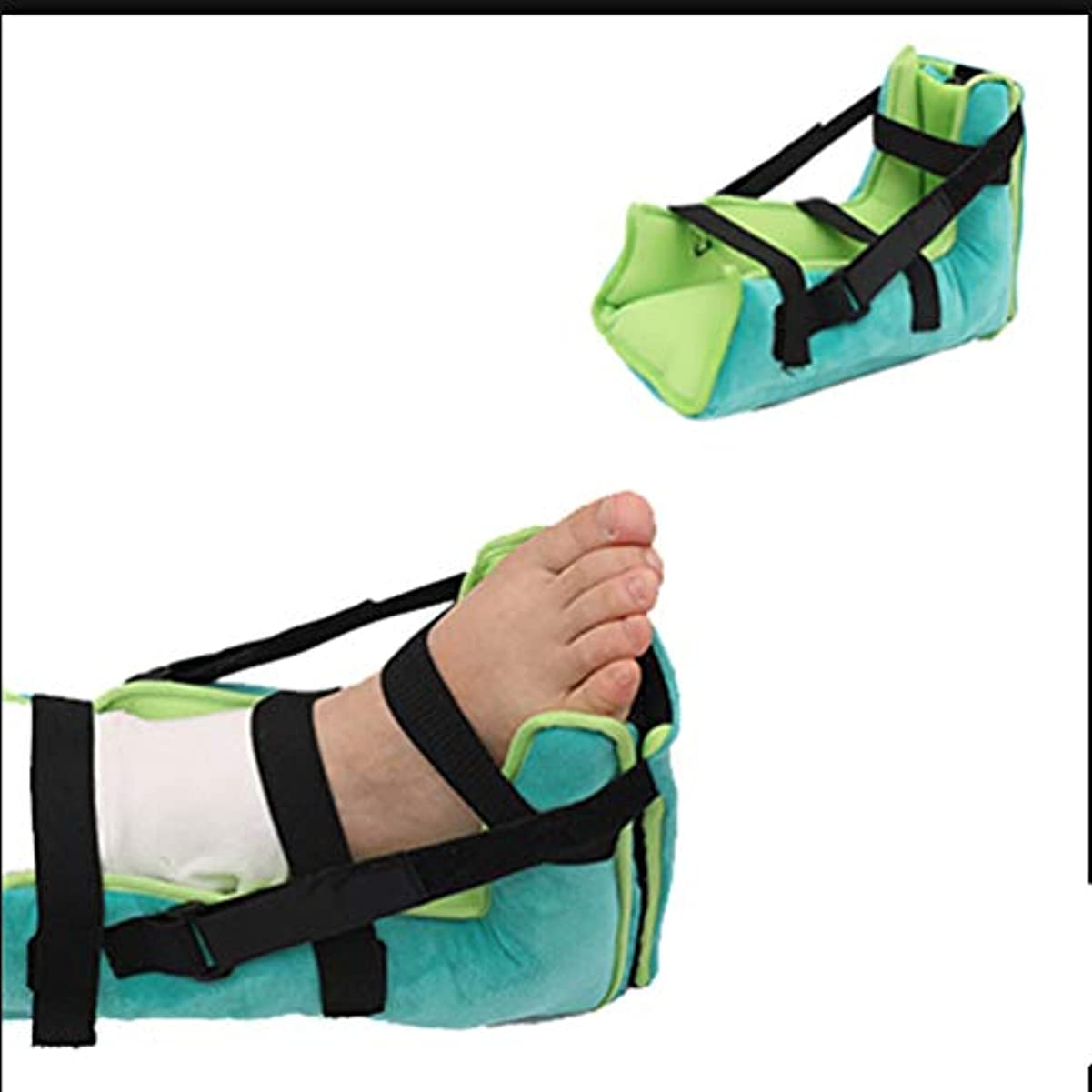 再発する却下する地下鉄柔らかい快適なかかと保護足枕反Anti瘡かかとプロテクターオープン足ドループ装具減圧ストローク反足保護スリーブ