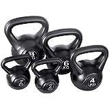 14KG Kettlebell Set Kettle Bell Weight Plates Home Gym Fitness Exercise Workout Training Bench Press Squat Everfit 8KG 6KG 4KG 2KG