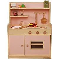 ままごとキッチン スタンダードハイタイプ ポピュラーシリーズ ピンク