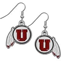 Siskiyou Sports CDE89 Utah Utes Dangle Earrings