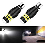 KaTur T15 W16W921 912 T16 902 LED Bulb High Power 20pcs 3030 SMD Extremely Bright 2000LM Replace for Car Reversing Light Backup Light Tail Light Bulbs,6500K Xenon White(Pack of 2)