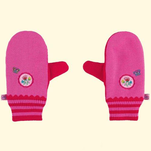 (シュピーゲルブルグ) SPIEGELBURG 【プリンセスリリー】Princess Lillifee 手袋(花と蝶々の刺繍入り)