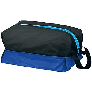 Speedo(スピード) 防水プールバッグ Lサイズ SD92B22 ブラック×ブルー