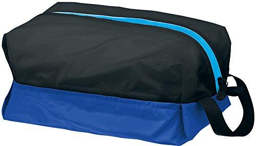 Speedo(スピード) 防水プールバッグ Sサイズ SD92B20 ブラック×ブルー