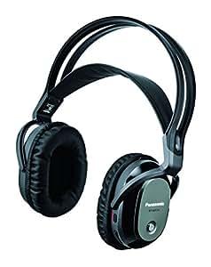 パナソニック 密閉型ヘッドホン ワイヤレス 増設用 ブラック RP-WF7H-K