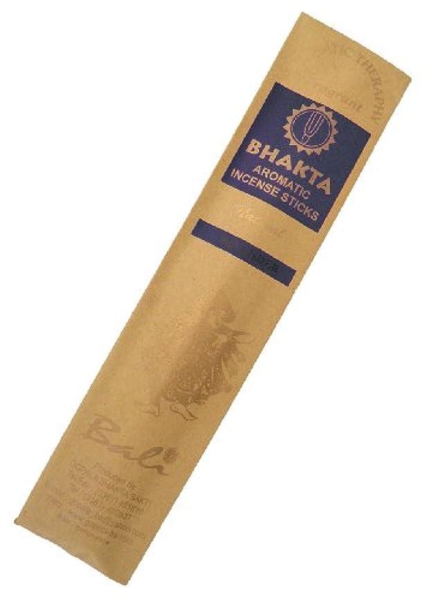 足音一杯甘味お香 BHAKTA ナチュラル スティック 香(ラベンダー)ロングタイプ インセンス[アロマセラピー 癒し リラックス 雰囲気作り]インドネシア?バリ島のお香