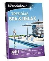 ワンダーボックスギフトボックス - スリーデイズスパ&リラックス - 2人用の1.440ホテル