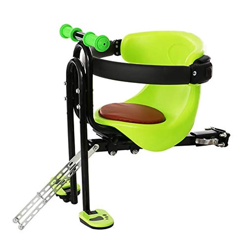 精神器具作動するチャイルドシート 子供用電動自転車フロントチェア ベビーサドルパッド 1-5歳に適しています