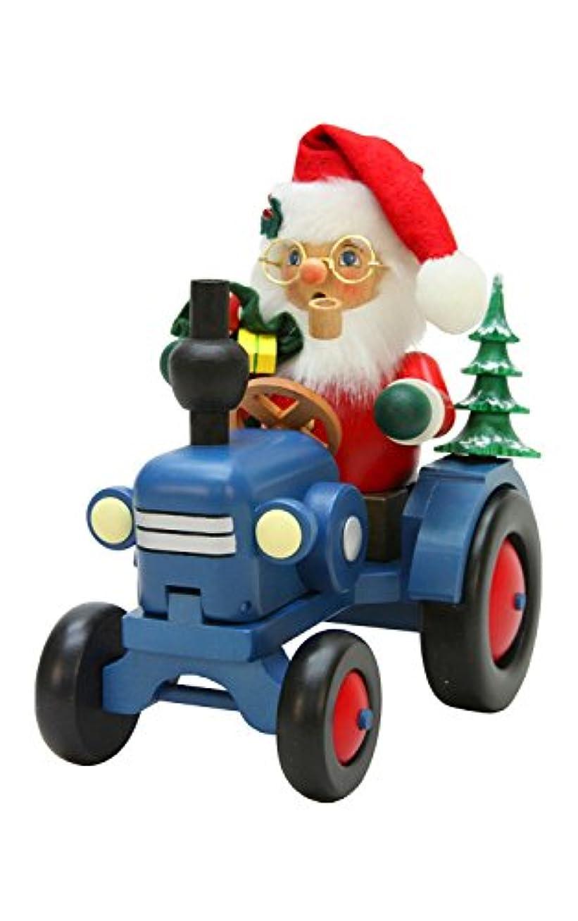 気候の山葬儀最少Alexander Taron Christian Ulbricht装飾サンタon Tractor Incense Burner