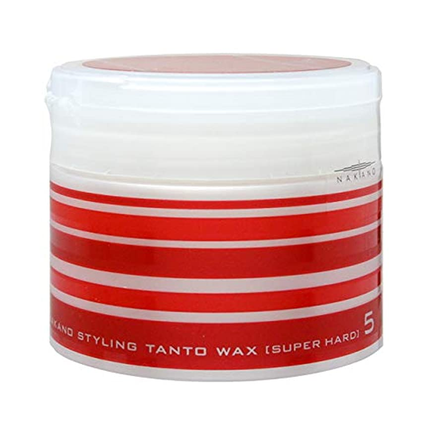 とげ学者収束する中野製薬 ナカノ スタイリング タントN ワックス 5 90g