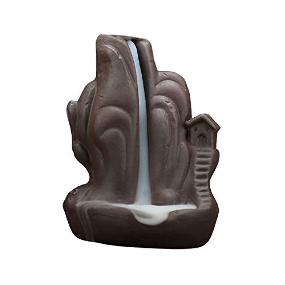 ピンクカロリーマイナー全4種 繊細 絶妙 デザイン 磁器 逆流香 香炉 仏壇 古典的 装飾 - 2#