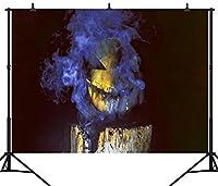 GooEoo ハロウィンテーマカボチャランタンカスタマイズされたシームレスなビニール写真の背景写真の背景スタジオプロップPGT240A