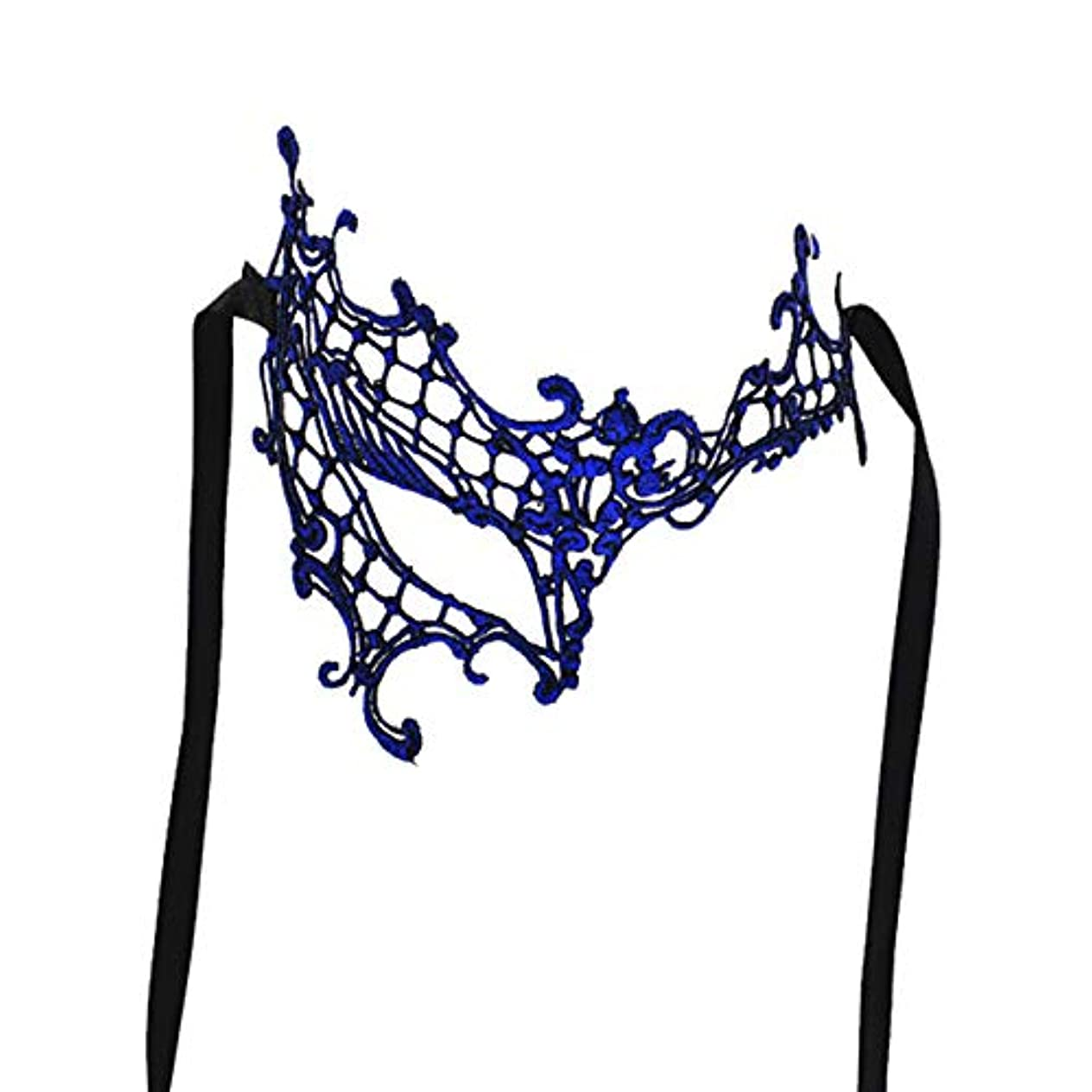 ベジタリアン対称普及カラフルなメタルマスクブロンズホットシルバーレースマスクハロウィンマスクホリデーパーティーレトロパーティー
