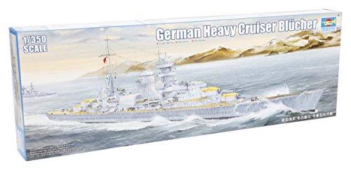 トランペッター 1/350 ドイツ海軍 重巡洋艦 ブリュッヒャー